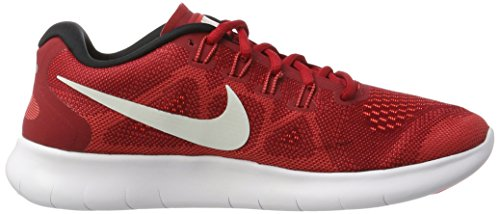 Nike Herren Free Run 2017 Laufschuhe Rot (Game Red/Off White-Track Red-Total Crims)