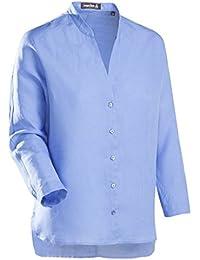 JACQUES BRITT Damen Bluse Brown Label Bügelleicht Uni / Uniähnlich City-Bluse