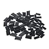 Caratteristiche:  Due tipi di cappuccio tra cui scegliere  Adatto per PC ATX Hard Disk   Specifiche:  Tipo: 180 ° / 90 ° Cap Materiale: plastica  Colore: nero  Dimensione del connettore: 24x16mm  Dimensione del cappuccio: 21x8mm  Quantità: 1 Set   No...