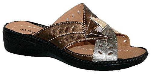 Cushion Walk , Sandales pour femme Marron - bronze