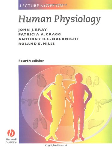 Lecture Notes on Human Physiology por John Bray