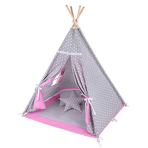 tipi zelte f r kinderzimmer spielzelte top 5 kinder tipis 2018. Black Bedroom Furniture Sets. Home Design Ideas