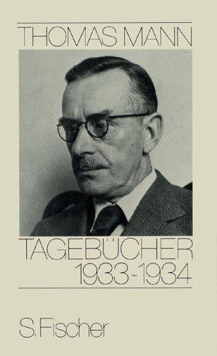 Buchseite und Rezensionen zu 'Tagebücher 1933-1934' von Thomas Mann