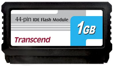 Ts1gdom44v-s Transcend 1gb Flash Module (diskonmodule) With Ide Interface 44pin,
