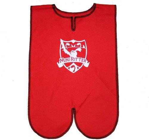 Knappenhemd rot für kleine Ritter Kleinkind Ritterkostüm