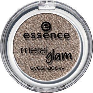 Essence metal Glam eyeshadow, Ombre à paupières avec texture métallique pour un effet intense brillant de couleur n°20 Daily glam, 2.7 g, 0.09 oz.
