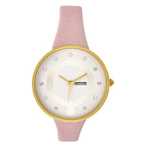 Lambretta Cielo 34 Pink Girl Power - Reloj analógico para Mujer diseñado por Alexandra 2903PIN