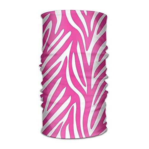 ?Unisex Zebra Pink Skin Multifunktions Bandana Stirnband Athletic Headwear Schwei?band, Magic Scarf, Nackensturmhaube, Helmfutter, Schlauchmaske, UV-Best?ndigkeit Outdoor Sport Yoga Pink Zebra Haut