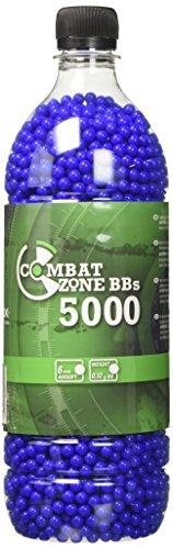 Umarex - 2.5671 - Softair Munition Combat Zone Basic Selection 5000 Stück, blau (Softair Kugeln)