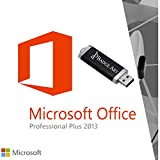 Microsoft® Office Professional Plus 2013 USB-STICK von Badge Art® Originalem Lizenzschlüssel 32/64 bit