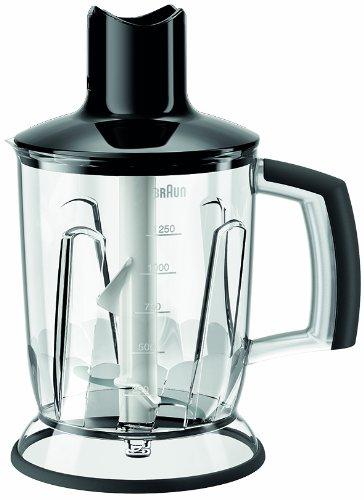 Braun MQ 40 Multiquick Universal-Zerkleinerer (1250 ml), schwarz