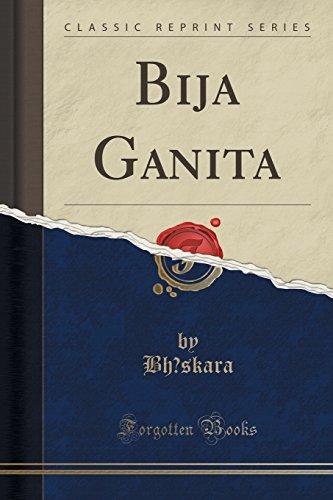Bija Ganita (Classic Reprint)