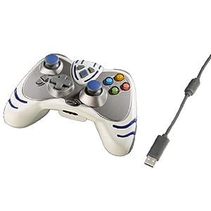 """Controller """"Wildfire 2"""" für Xbox360, Weiß"""