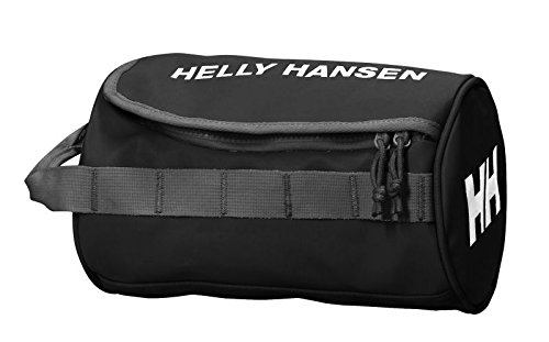 Helly Hansen Wash 2 - Bolsa de gimnasia, talla única, color Negro (990 Black/Off White/Birch)
