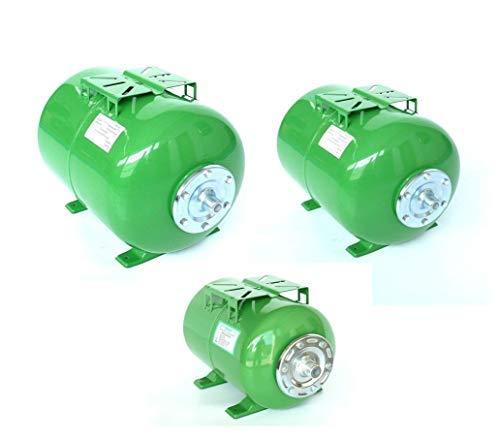 Druckkessel in verschiedenen Größen 24, 50 u. 100 Liter, Ausdehnungsgefäß Membrankessel Hauswasserwerk. Druck: Max. Druck 8 Bar. (50 Liter) -