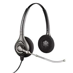 Plantronics HW361/A Binaraul Supraplus Corded Headset - Silver