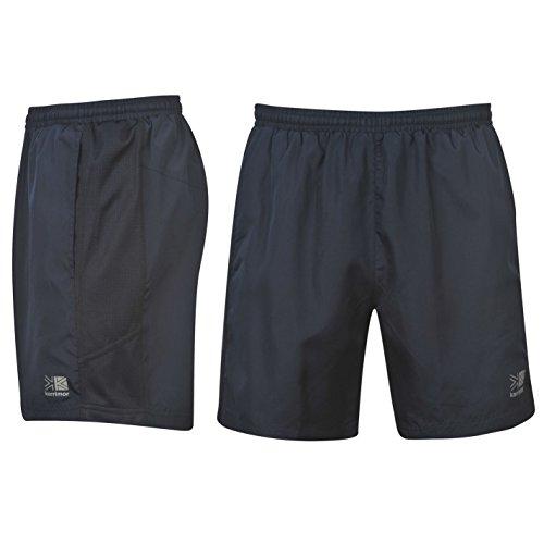 Karrimor Herren Run Shorts Sport Kurze Hose Sporthose Trainingshose Laufhose Marineblau