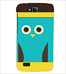 PrintDhaba Cartoon D-3530 Back Case Cover for HUAWEI HONOR HOLLY (Multi-Coloured)