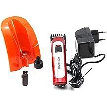 PRITECH Maquina Base Corta Pelo inalambrica cortadora De Pelo Color Rojo Envio  48 72H Felixmania 87b8d3598451