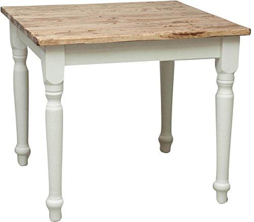 Tavolo-Country-in-legno-massello-di-tiglio-struttura-bianca-anticata-piano-naturale-90x90x78-cm