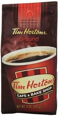 TIM HORTONS CAFE & BAKE SHOP 100% ARABICA MEDIUM ROAST GROUND COFFEE 340g from TIM HORTONS