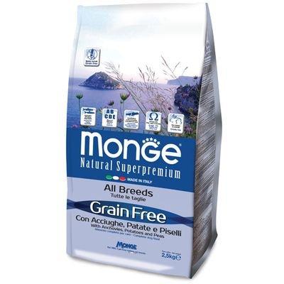 Monge Grain free all breeds anatra e patate 12 kg