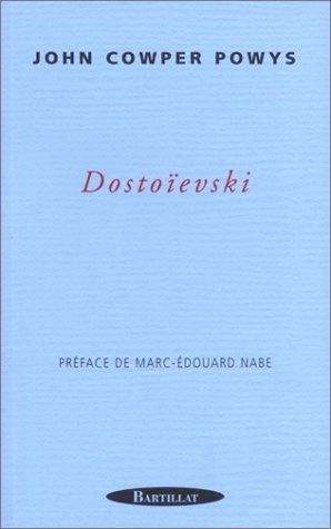 DOSTOIEVSKI par JOHN COWPER POWYS