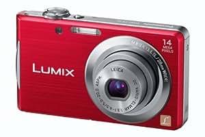 Panasonic Lumix FS16 Digital Camera - Red (14.1MP, 4x Optical Zoom)  2.7 inch LCD