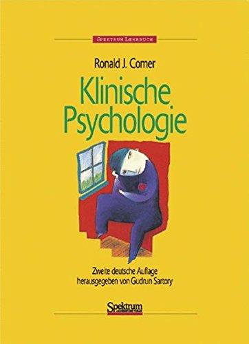 Klinische Psychologie: Herausgegeben von Gudrun Sartory