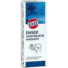 EMSER Nasendusche m.4 Btl.Nasenspuelsalz, 1 St