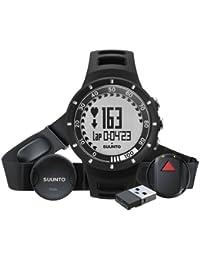 Suunto Quest GPS - Pack con reloj, banda pectoral con pulsómetro, GPS Pod y Mini movestick, color negro
