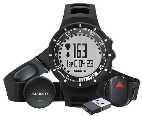 Suunto Quest GPS Pack de Montre/cardiofréquencemètre Noir