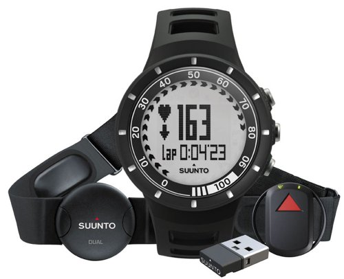 Suunto Sportuhr Quest GPS Pack, Black, One size, SS018715000