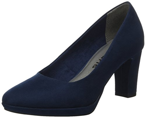 Tamaris Damen 22420 Pumps, Blau (Navy), 37 EU