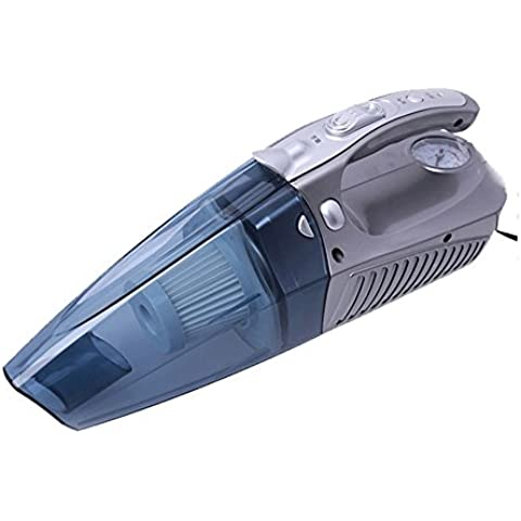 mingchang DC12V Auto Aspirapolvere Portatile Wet and Dry portatile 100W accendisigari per aspirapolvere Silver