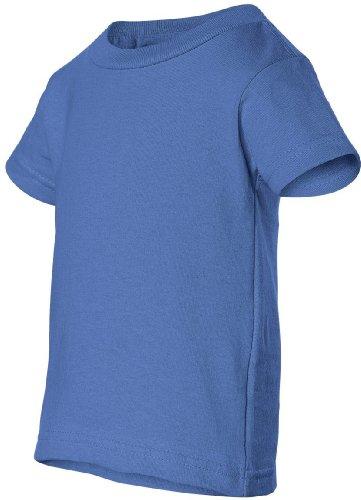 Obama Change auf American Apparel Fine Jersey Shirt Blau - Iris