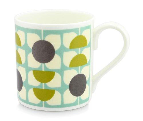 Orla Kiely tasse de porcelaine - fleur carré tasse de ciel