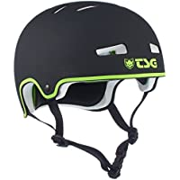 TSG Evolution Charity - Casco para monopatín, Color Negro, Talla S/M