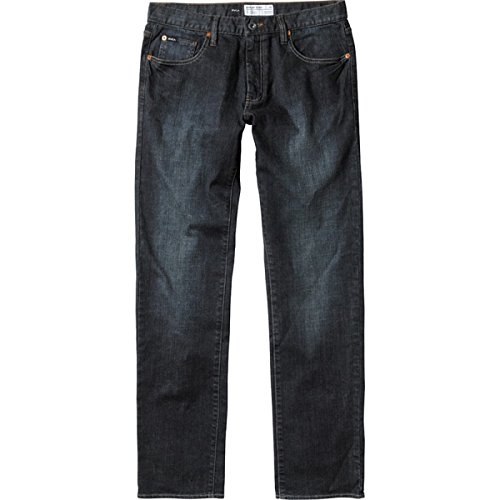 RVCA - - Dagues pour hommes supplémentaires stretch Skinny Jeans Dark Vintage