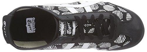 Asics Mexico 66, Baskets Basses Mixte Adulte Noir (black/white 9001)