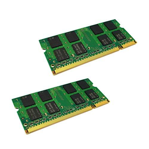dekoelektropunktde Kompatibel für IBM Lenovo ThinkPad R61 R61i T60 SL300 Speicher | 4GB KIT Dual Channel (2X 2GB) Ram Speicher Arbeitsspeicher SODIMM PC2 DDR2 Memory Upgrade -