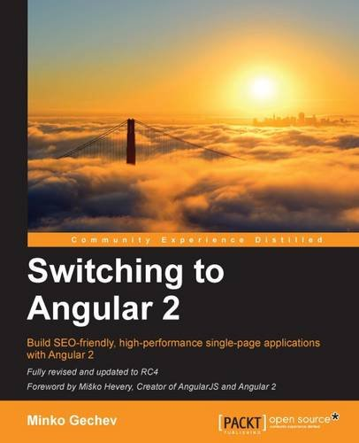 Switching to Angular 2