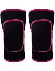 Paciffico Genouillères, support de genou, coussin de protection attelle de genou, Genouillères épaisses en coton antidérapantes respirantes résistant aux chocs pour enfants Bande de protection de Sport/danse