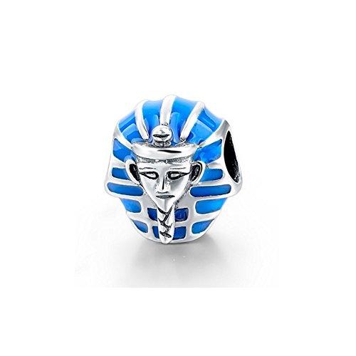 Charms Bead Faraon de Egipto 925 Plata – MIS 4341 V – Blue Pearls
