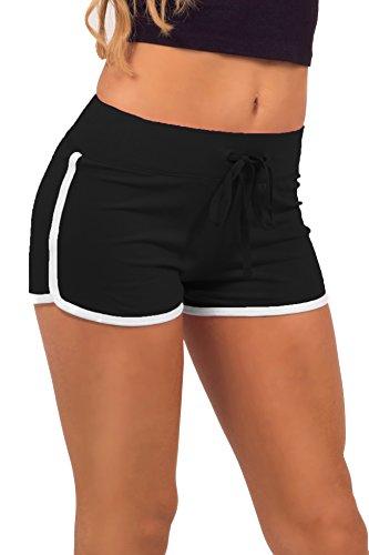 Mini Shorts Jersey Aktive Wear Sport figurbetont bequem