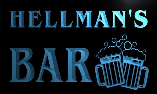 cartel-luminoso-w006924-b-hellman-name-home-bar-pub-beer-mugs-cheers-neon-light-sign
