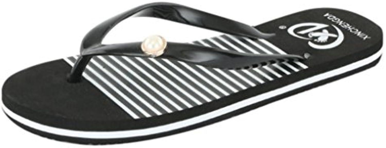 Lolittas Women Summer abek-30062 Flip Flops Flat Wedge Casual Slipper 778454babd1c