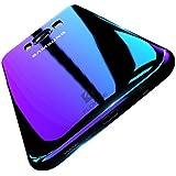 Coque Samsung Galaxy S7 Edge FLOVEME Étui Placage en PC Rigide Housse avec Couleur Dégradé Ultra-mince de Protection pour Samsung Galaxy S7 Edge - Violet