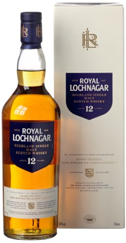 Royal Lochnagar 12 Jahre Highland Single Malt Scotch Whisky (1 x 0.7 l)