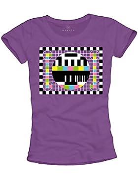 MAGLIETTA SHELDON - T-shirt nerd donna